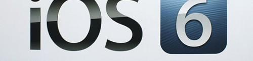 IOS 6 nu beschikbaar